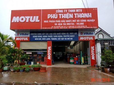 In ấn - Thi công nhãn hiệu dầu nhớt Motul & Vilube Motul
