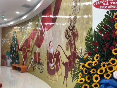 TRANG TRÍ NOEL TẾT CHO TTTM SATRA VÀ SHOWROOM THACO